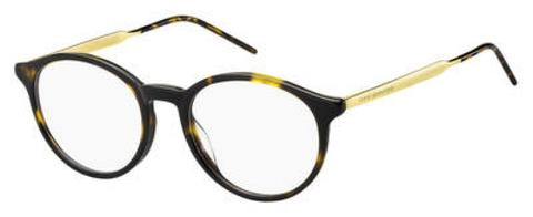 Tommy Hilfiger - Th 1642 Dark Havana Eyeglasses / Demo Lenses