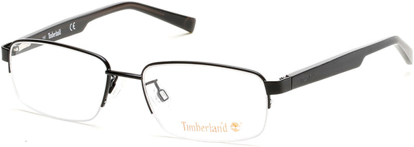Timberland - TB1548 Matte Black Eyeglasses / Demo Lenses
