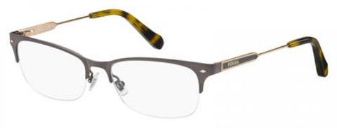 Fossil - Fos 6078 Gray Eyeglasses / Demo Lenses