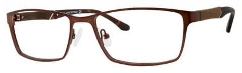 Chesterfield Eyewear - Ch 67XL 58mm Dark Brown Eyeglasses / Demo Lenses
