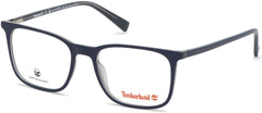 Timberland - TB1608 53mm Shiny Blue Eyeglasses / Demo Lenses