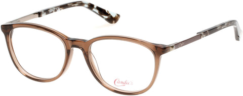 Candie's - CA0503 47mm Light Brown Eyeglasses / Demo Lenses