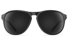 Neubau - James Black Coal Matte Polarized Sunglasses