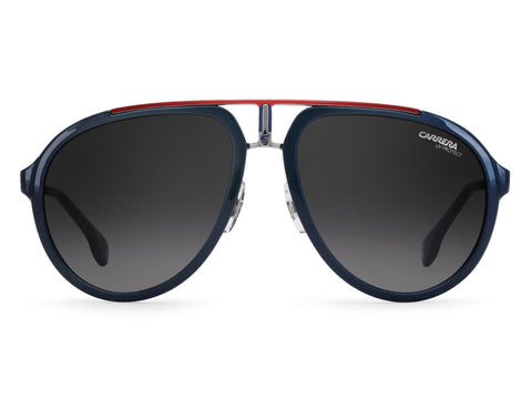 Carrera - 1003 Blue Ruthenium Sunglasses / Dark Gray Gradient Lenses