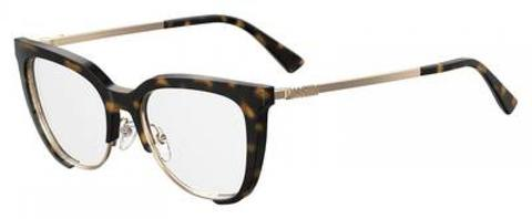 Moschino - Mos 530 Dark Havana Eyeglasses / Demo Lenses