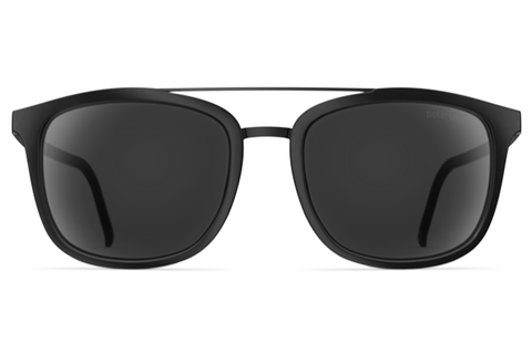 Neubau - Joseph Black Coal Matte / Black Polarized Sunglasses