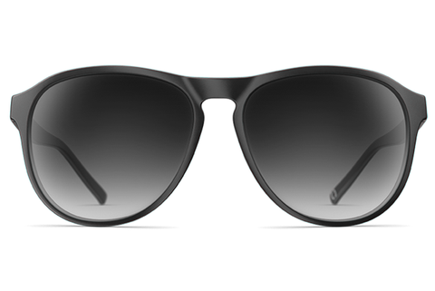 Neubau - James Black Coal Matte Sunglasses
