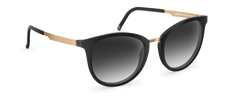 Neubau - Mia Black Coal Matte / Gold Sunglasses