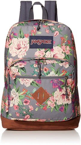 JanSport - City View Grey Bouquet Backpack