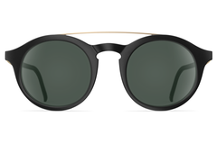 Neubau - Toni Black Coal Matte / Gold Sunglasses
