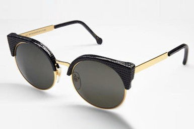 Super - Lucia Black Lizard Sunglasses