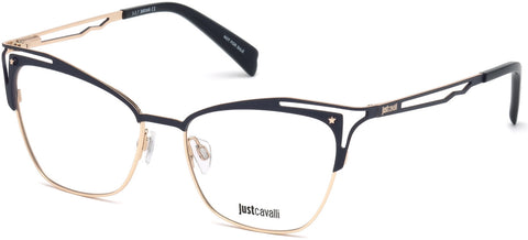 Just Cavalli - JC0859 Blue Eyeglasses / Demo Lenses