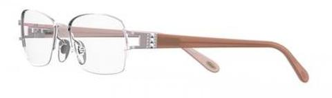 Emozioni - 4388 55mm Light Pink Eyeglasses / Demo Lenses