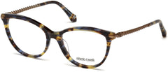 Roberto Cavalli - RC5045 Empoli Colored Havana Eyeglasses / Demo Lenses