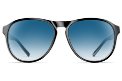 Neubau - James Black Coal Sunglasses
