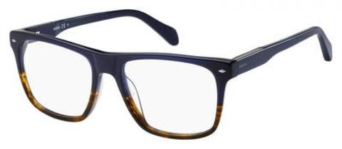 Fossil - Fos 7018 Brown Blue Eyeglasses / Demo Lenses