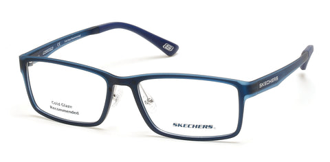 Skechers - SE3225 Matte Blue Eyeglasses / Demo Lenses