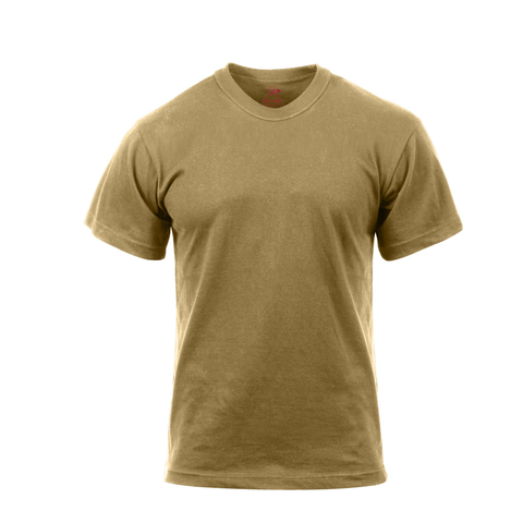 Rothco - Moisture Wicking Brown T-shirt