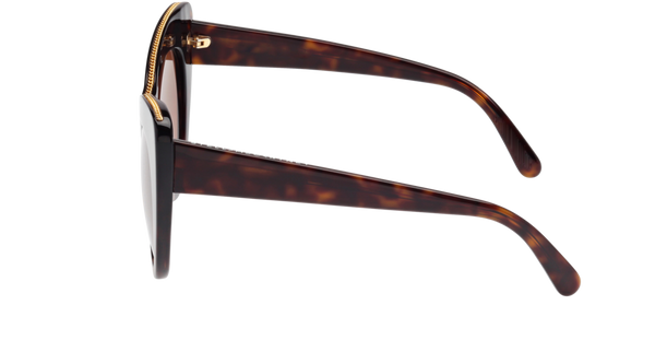 Stella McCartney - SC0006S Havana Sunglasses / Brown Lenses