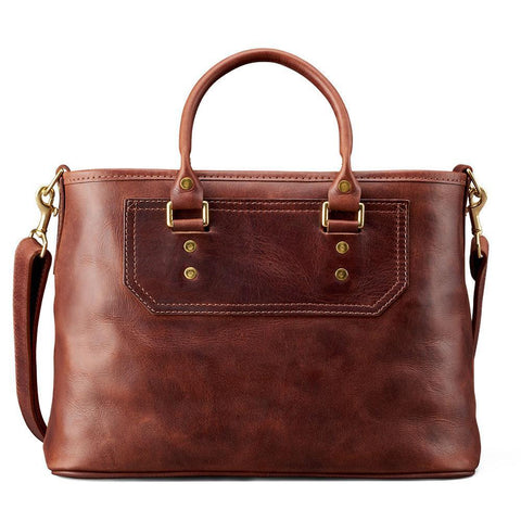 J.W. Hulme - Elliot American Heritage Leather Satchel