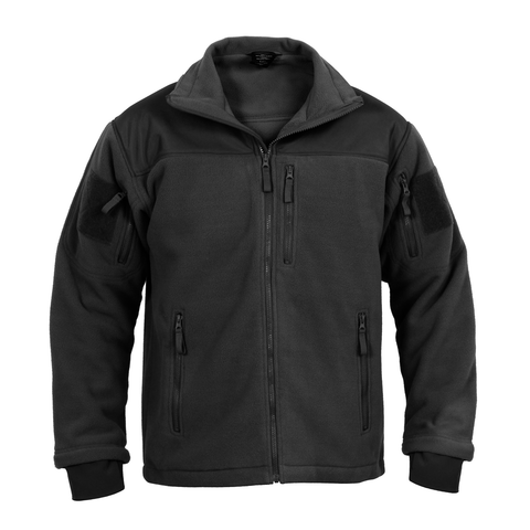 Rothco - Spec Ops Tactical Black Fleece Jacket