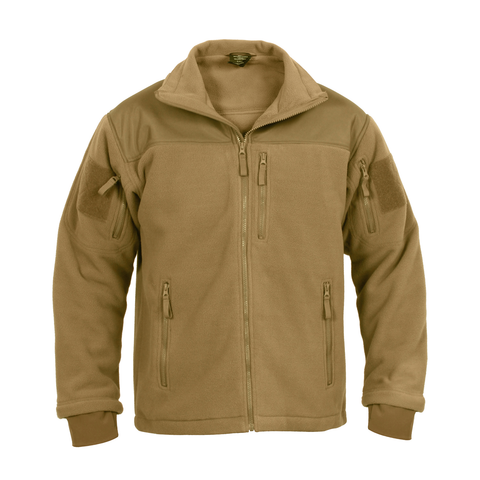 Rothco - Spec Ops Tactical Coyote Brown Fleece Jacket
