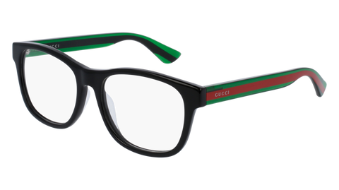 Gucci - GG0004OA Green Black Eyeglasses / Demo Lenses