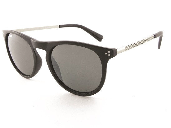 Peppers - Reaction Matte Black Sunglasses, Smoke Lenses