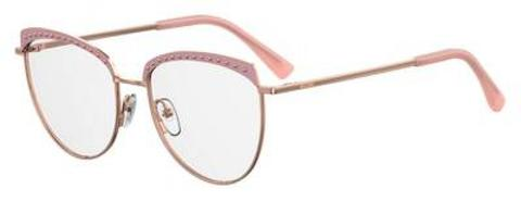 Moschino -  Mos 541 F Pink Eyeglasses / Demo Lenses