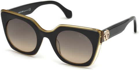 Roberto Cavalli - RC1061 Garfagnana Bronze Sunglasses / Brown Mirror Lenses