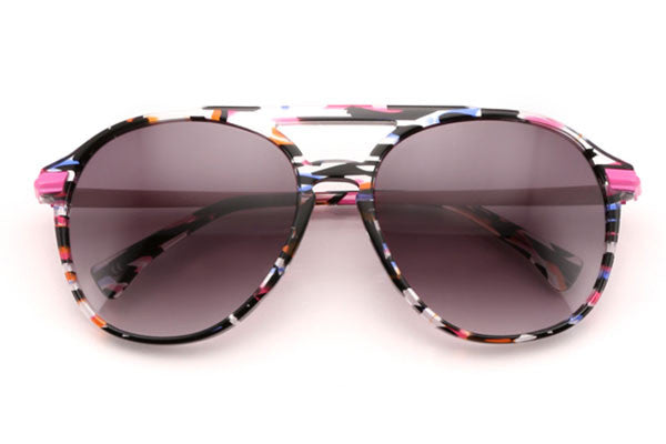 Wildfox - Baroness Fireworks Sunglasses