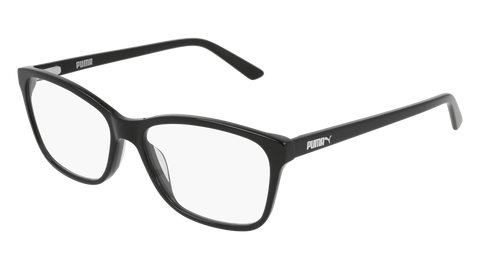 Puma - PU0183O Black Eyeglasses / Demo Lenses