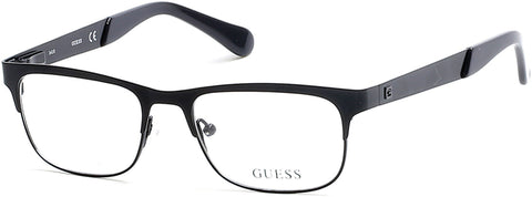 Guess - GU9168 Matte Black Eyeglasses / Demo Lenses