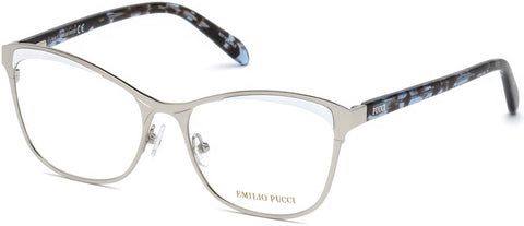 Emilio Pucci - EP5084 Shiny Palladium Eyeglasses / Demo Lenses