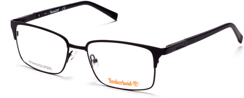 Timberland - TB1604 55mm Matte Black Eyeglasses / Demo Lenses