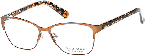 Rampage - RA0199 Dark Brown Eyeglasses / Demo Lenses