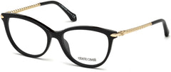 Roberto Cavalli - RC5045 Empoli Shiny Black Eyeglasses / Demo Lenses
