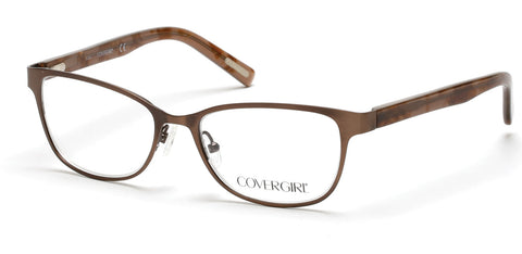 Cover Girl - CG0539 Matte Light Brown Eyeglasses / Demo Lenses