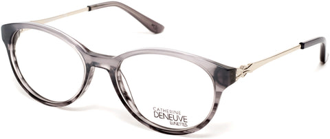 Catherine Deneuve - CD0422 49mm Grey Eyeglasses / Demo Lenses