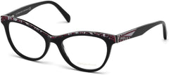 Emilio Pucci - EP5036 Shiny Black Eyeglasses / Demo Lenses