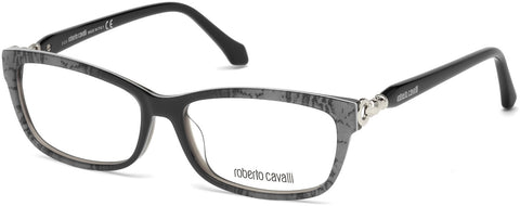 Roberto Cavalli - RC5012 Aulla Grey Eyeglasses / Demo Lenses