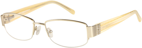 Catherine Deneuve - CD0315 Matte Gold Eyeglasses / Demo Lenses