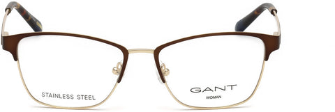 Gant - GA4086 53mm Matte Dark Brown Eyeglasses / Demo Lenses