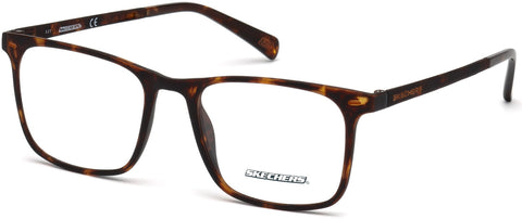 Skechers - SE3216 Dark Havana Eyeglasses / Demo Lenses