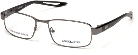 Skechers - SE3224 Matte Gunmetal Eyeglasses / Demo Lenses