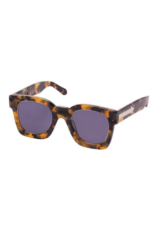Karen Walker - Pablo Crazy Tortoise Sunglasses / Smoke Mono Lenses