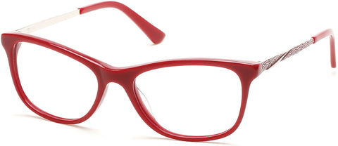 Rampage - RA0197 Shiny Red Eyeglasses / Demo Lenses
