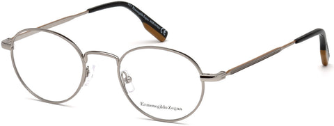 Ermenegildo Zegna - EZ5132 Shiny Light Ruthenium Eyeglasses / Demo Lenses