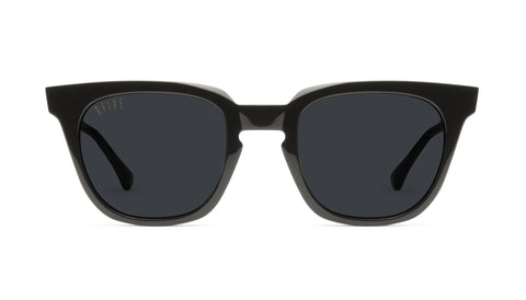 9FIVE - Dean 49mm Black Sunglasses / Black Lenses
