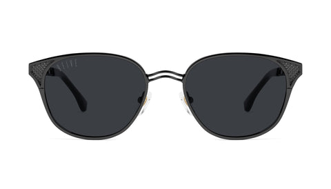 9FIVE - KLS 3 51mm Black Sunglasses / Black Lenses
